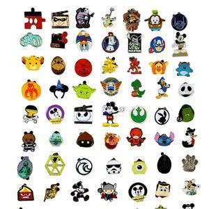 25 BOY Assorted Disney Pin Trading Lot - NEW